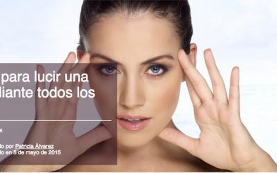 10 consejos para lucir una piel radiante todos los días