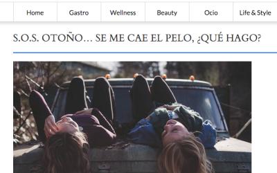 S.O.S. OTOÑO… SE ME CAE EL PELO, ¿QUÉ HAGO?