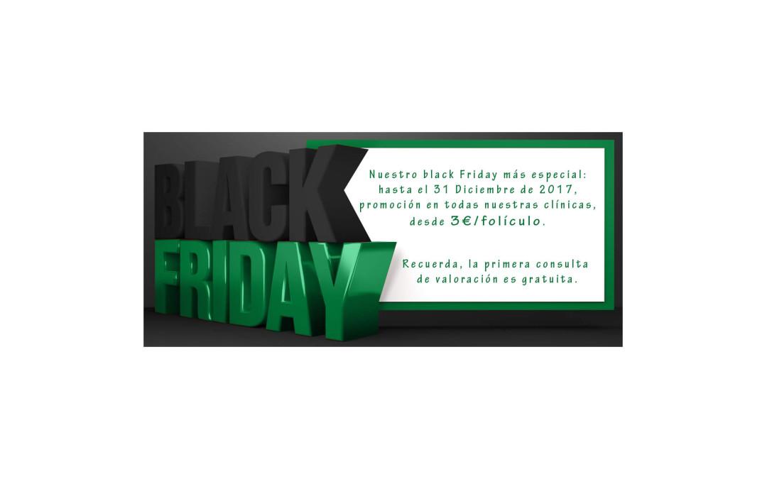 En Clínicas Ceta alargamos el Black Friday hasta el 31 de diciembre- Injerto capilar